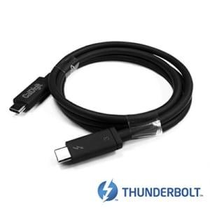 CalDigit Thunderbolt 3-Kabel (2,0 m) 40Gbps / Laden bei 100W / 5A / 20V / Aktiv [Zertifiziert] 2016 MacBook Pro Typ-C-kompatibel - 2