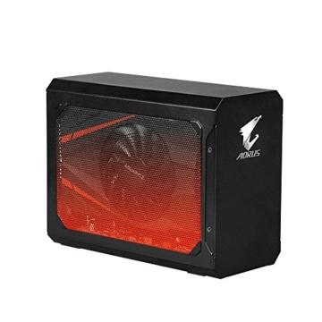 Gigabyte GV-N1070IXEB-8GD Aorus GTX 1070Mini ITX OC 8G Thunderbolt 3Gaming Box–Schwarz - 2