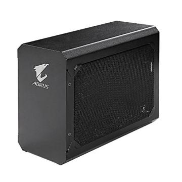 Gigabyte GV-N1070IXEB-8GD Aorus GTX 1070Mini ITX OC 8G Thunderbolt 3Gaming Box–Schwarz - 3