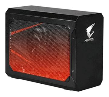 Gigabyte GV-N1070IXEB-8GD Aorus GTX 1070Mini ITX OC 8G Thunderbolt 3Gaming Box–Schwarz - 1