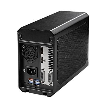 Gigabyte GV-N1070IXEB-8GD Aorus GTX 1070Mini ITX OC 8G Thunderbolt 3Gaming Box–Schwarz - 5